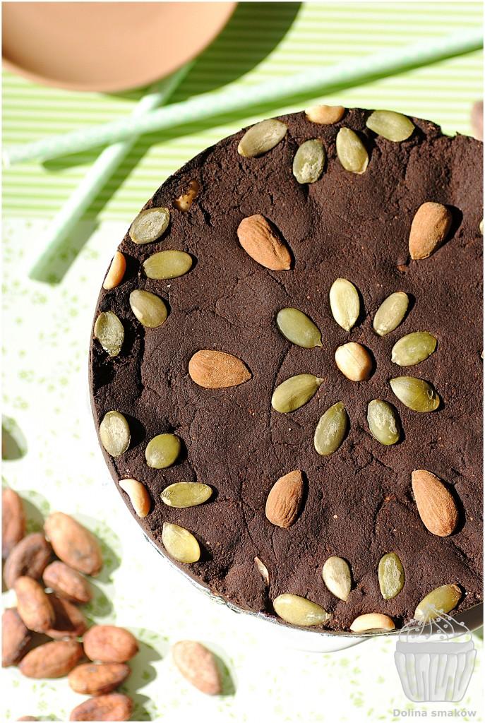wegańskie ciasto kakaowe