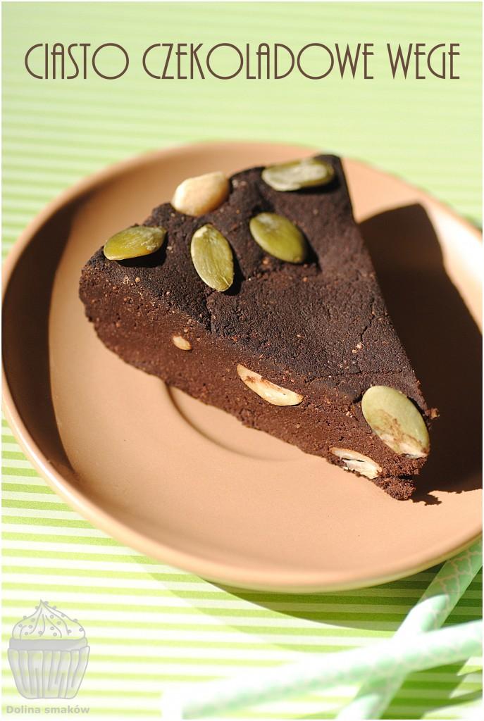 wege ciasto brownie