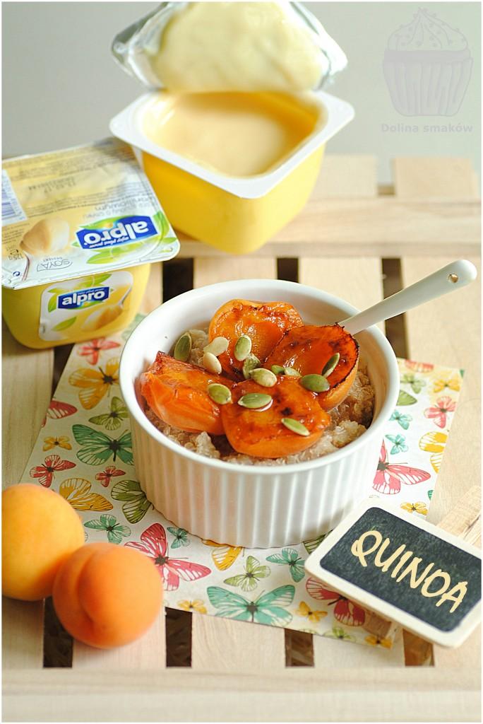 płatki quinoa z alpro